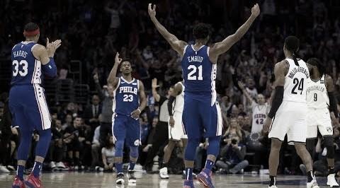 Los 76ers están entre los 4 mejores del Este