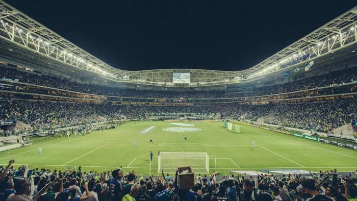 Com casa cheia, Allianz Parque recebe seu primeiro Palmeiras x Grêmio da história