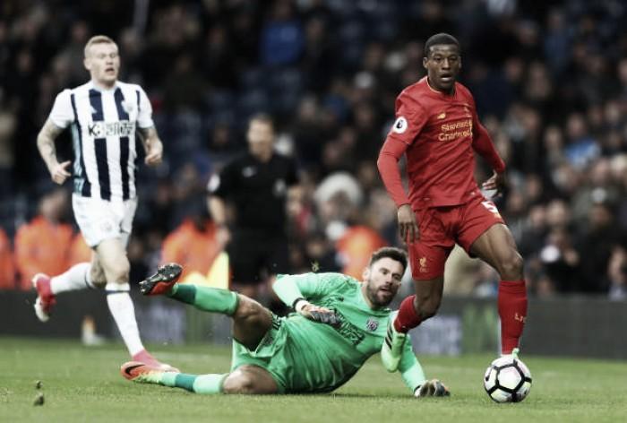 Com objetivos distintos, Liverpool e West Brom se enfrentam pela Premier League