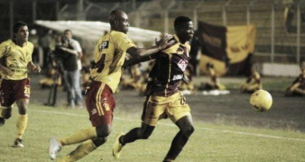 Resultado Águilas Pereira - Deportes Tolima (2-2)