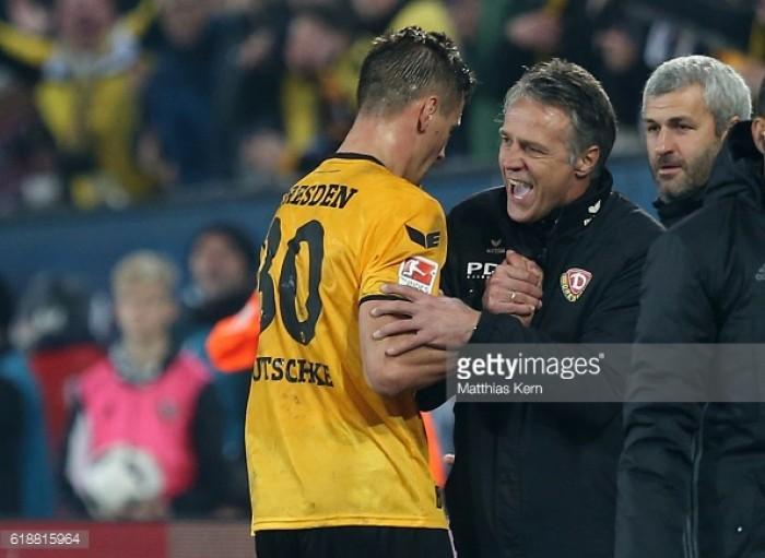 Dynamo Dresden 3-2 Eintracht Braunschweig: Kutschke hat-trick sees Dynamo complete comeback