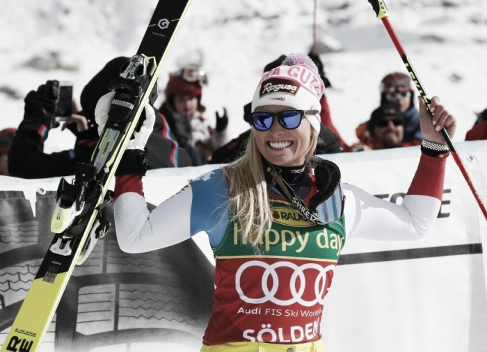 Alpine Skiing: Lara Gut starts the season in a bang