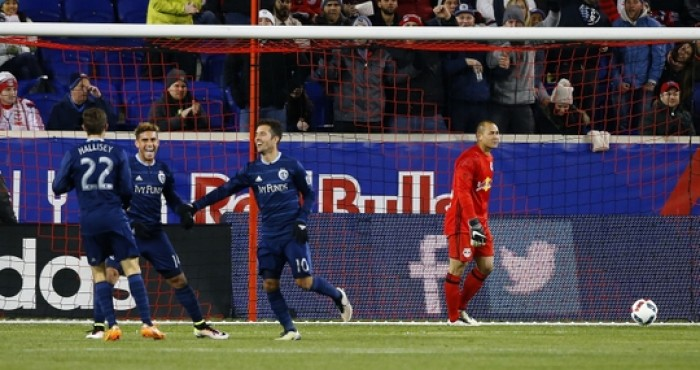 Sporting Kansas City Roll to a 2-0 Victory Over Red Bulls With Help of Super Keeper Tim Melia
