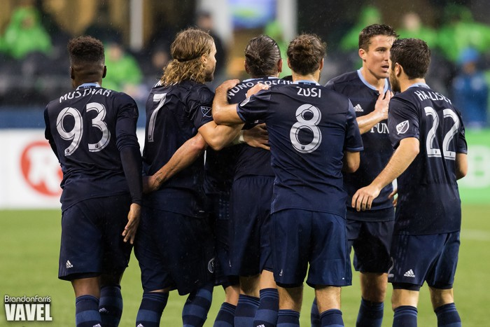 Result Sporting Kansas City 2-1 Vancouver Whitecaps in 2016 MLS
