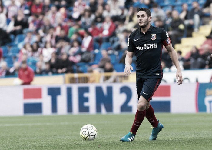 """Koke lamenta derrota do Atlético de Madrid diante o Levante: """"Uma pena"""""""