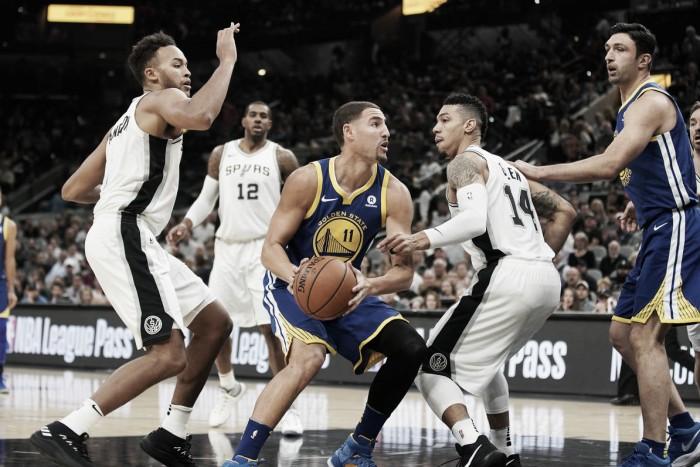 Golden State Warriors fight back; defeat San Antonio Spurs 112-92