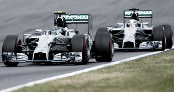 FP1 do GP da Alemanha: Hockenheim em brasa