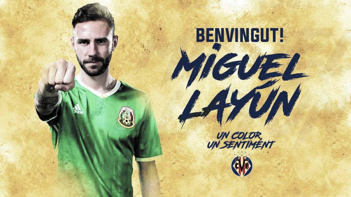 El Villarreal hace oficial el fichaje de Miguel Layún