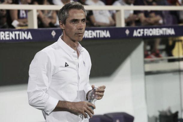 """Fiorentina, Sousa: """"Fa piacere che tutti parlino ora di noi, ci dà una forza in più"""""""