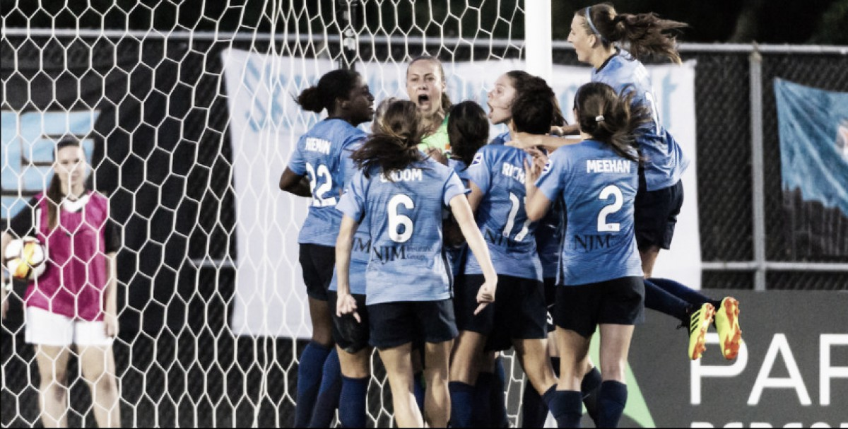 Kailen Sheridan saves a point as Sky Blue FC draws the Washington Spirit