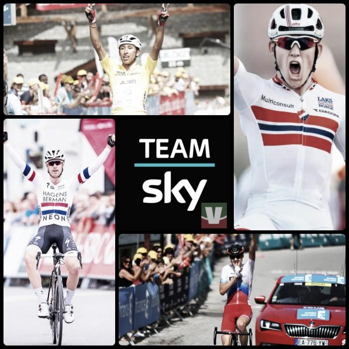 Ciclismo, la Sky guarda al futuro