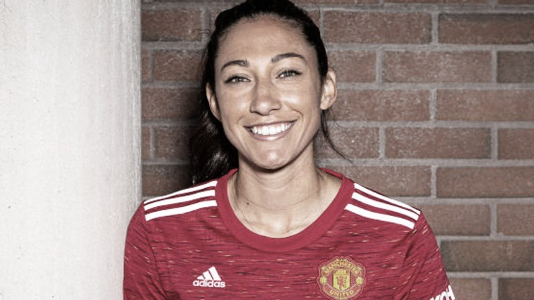 Christen Press vai usar camisa 24 do Manchester United em homenagem a Kobe Bryant