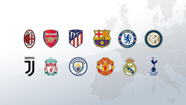 European Super League: Plans branded 'disgrace' by UEFA chief