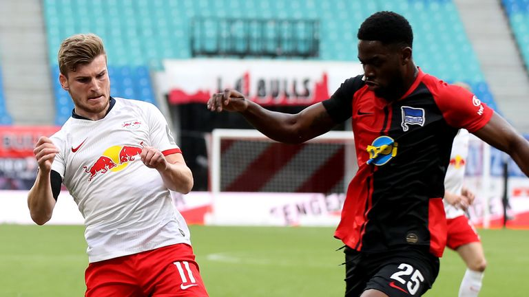 RB Leipzig Attack Sputters In Home Draw To Hertha Berlin