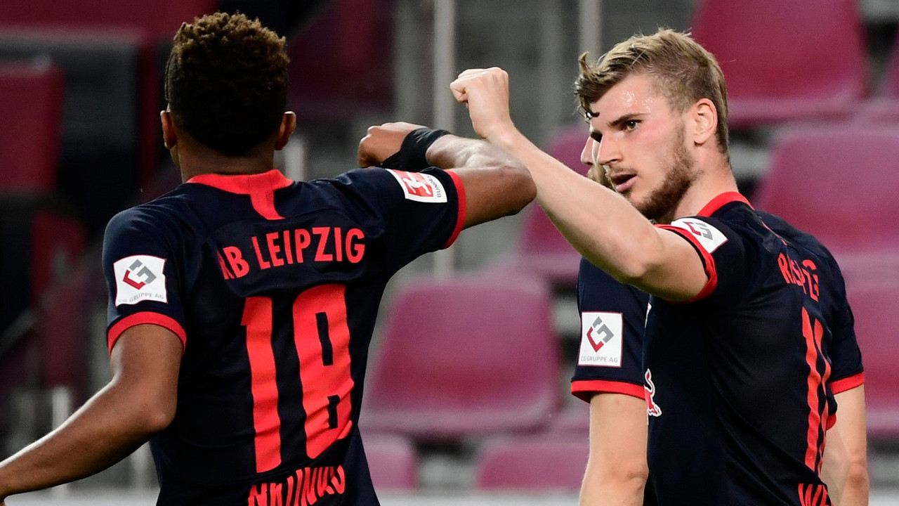 Angeliño And Timo Werner Power RB Leipzig's Win Over Cologne, Intensify Top 4 Race