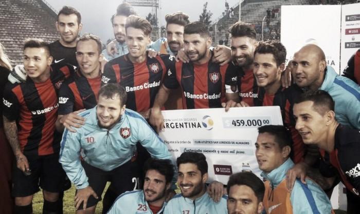 San Lorenzo se Copa