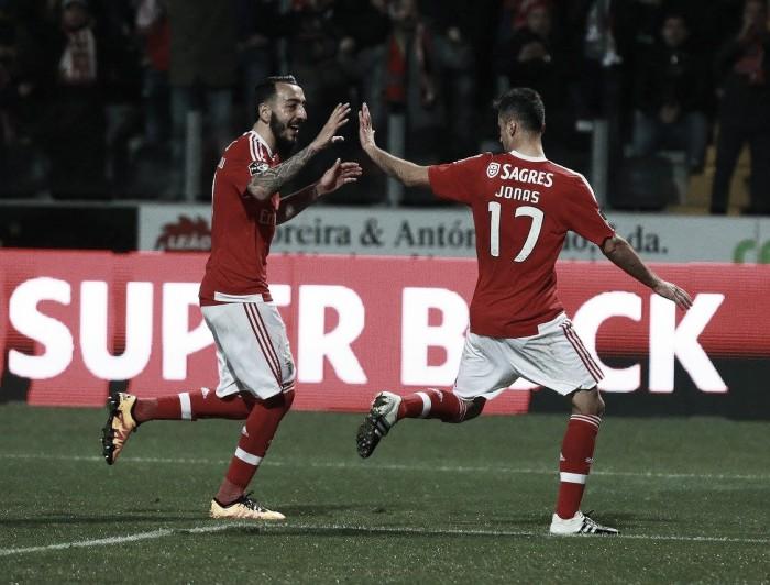 Benfica: Jonas e Mitroglou, 3ª dupla mais eficaz da Europa