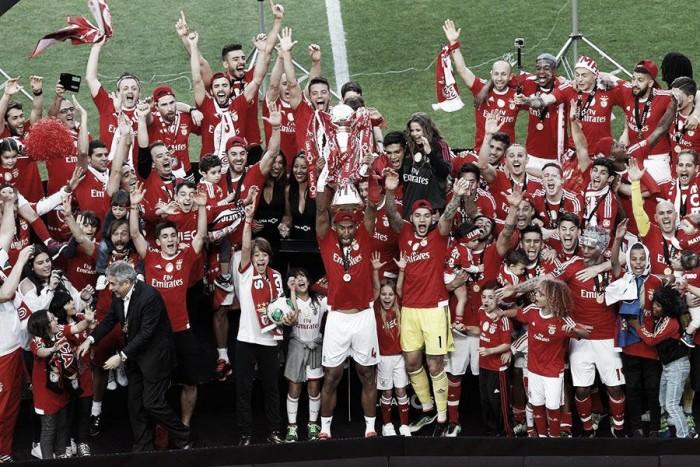 SL Benfica, campeón de la Liga NOS