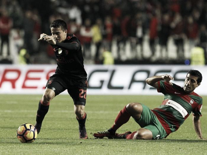 Encarnados y verdirrojos luchan por sus objetivos en Lisboa