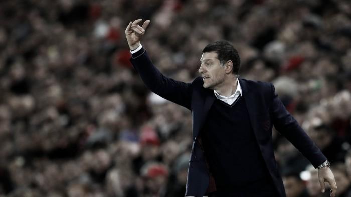 """Slaven Bilic:""""El partido ante el United será una buena prueba"""""""