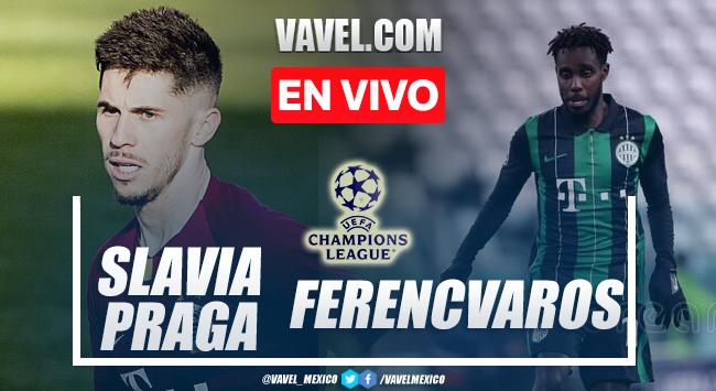 Gol y resumen del Slavia Praga 1-0 Ferencváros en UEFA Champions League