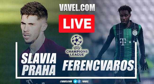 Goal and Highlights: Slavia Praha 1-0 Ferencvaros in UEFA Champions League