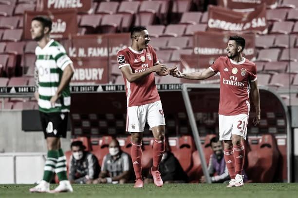 Com gol no fim, Benfica fecha campeonato com vitória no clássico contra Sporting