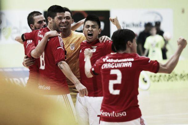 Benfica vence derby no futsal