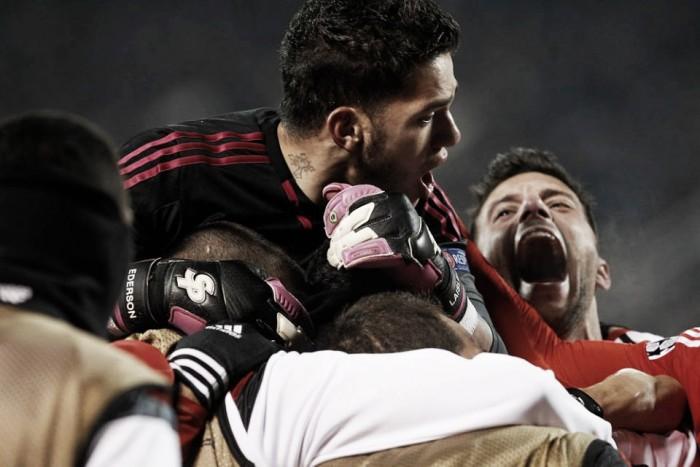 «Champions»: Zenit assustou mas indómito Benfica conquistou São Petersburgo