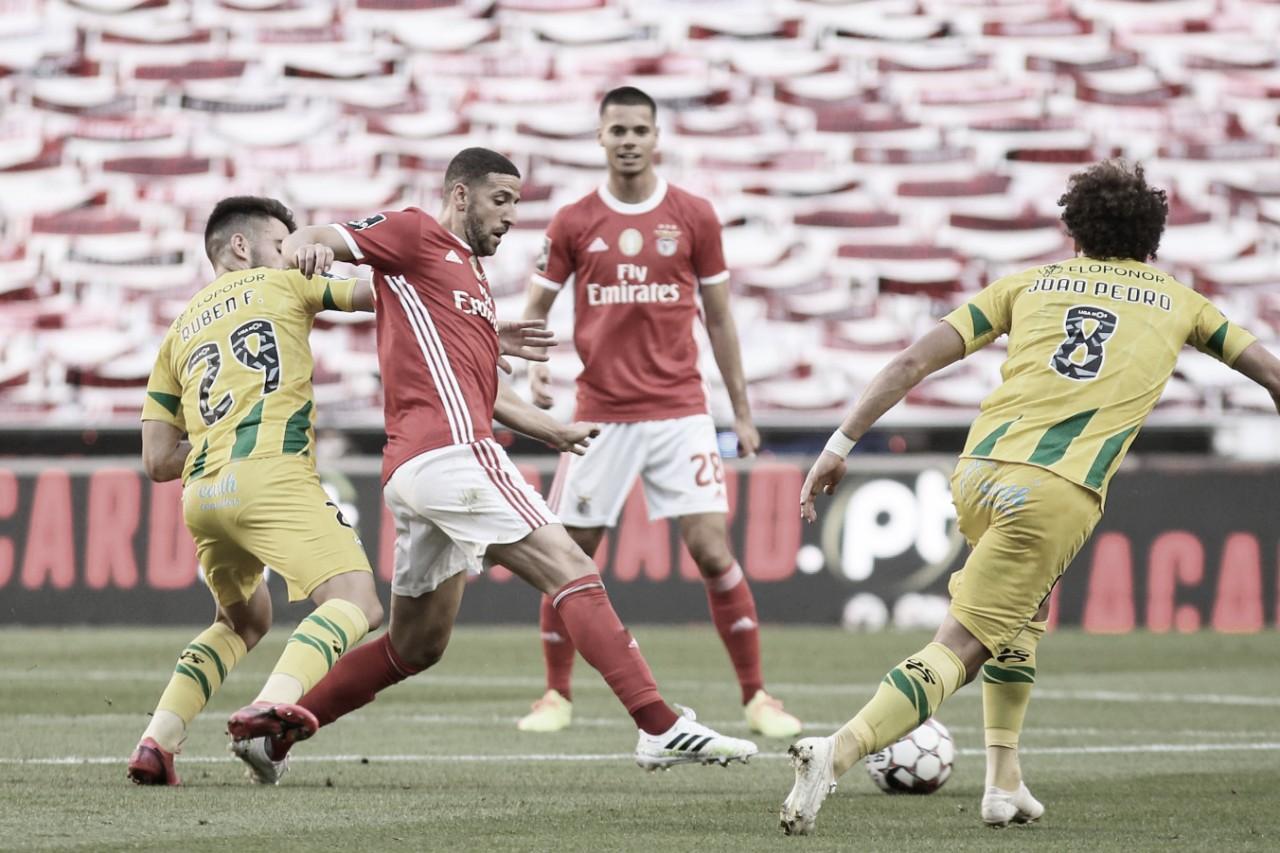 Benfica decepciona, empata com Tondela e não é líder do Português