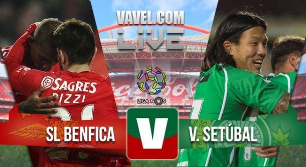 Benfica vs Vitória Setúbal, Liga NOSen vivo y en directo online (3-0)