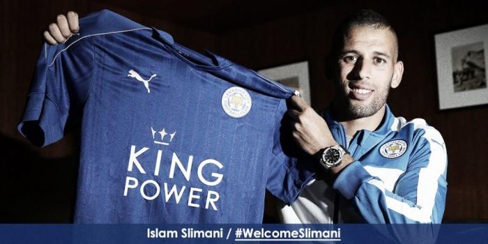 Leicester acerta contratação do atacante Islam Slimani, do Sporting