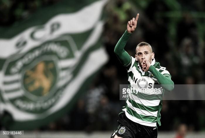 Sporting: Slimani, o melhor marcador desde Liedson