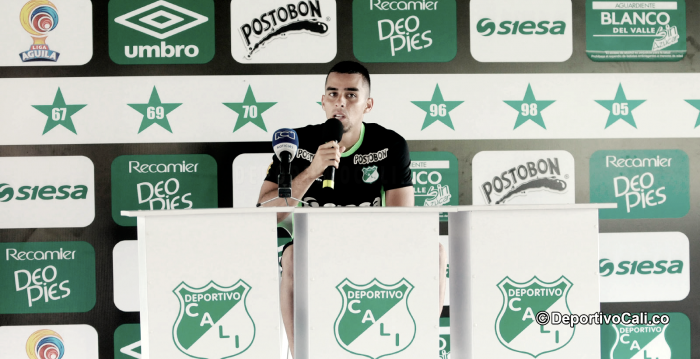 Daniel Giraldo, titular en la Copa