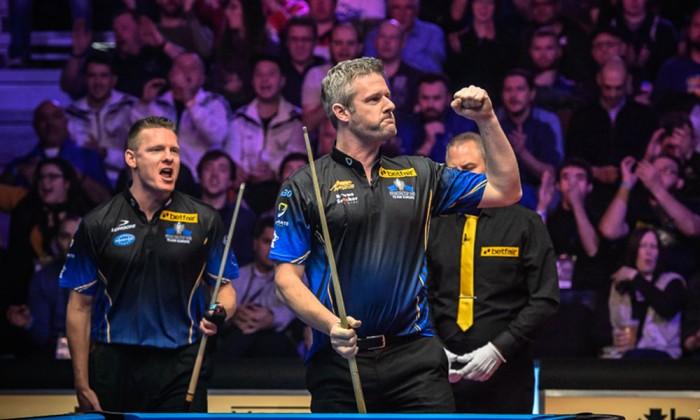 Mosconi Cup: Europe edge closer to another success