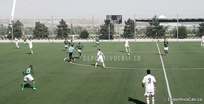 Deportivo Cali empató ante el Real Madrid