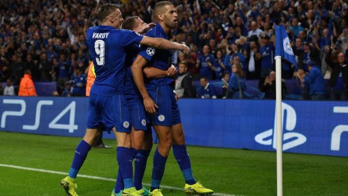 Leicester - Porto, decide Slimani. Ranieri in paradiso
