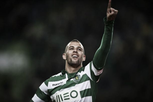 Benfica x Sporting: Slimani, para contrariar a dificuldade em marcar na Luz