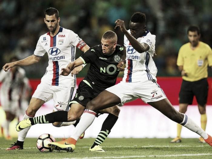 Sporting x Lyon : Derrota na apresentação aos sócios