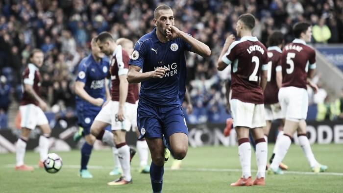 El Leicester golea al Burnley
