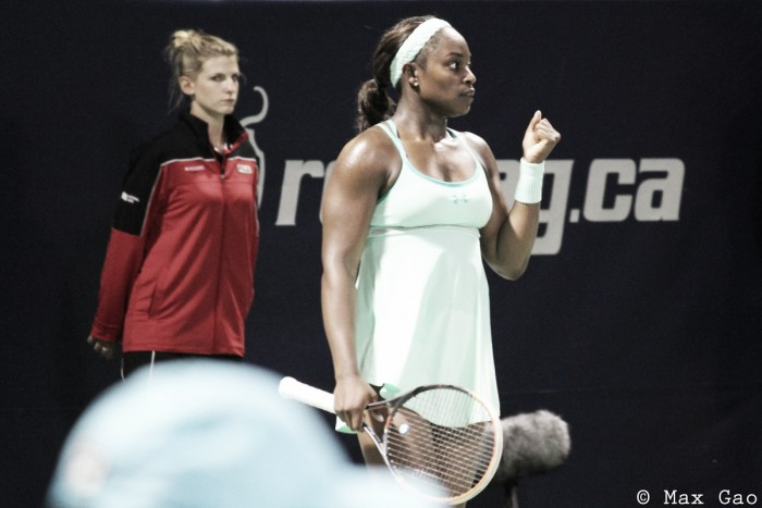 WTA Rogers Cup: Comeback kid Sloane Stephens thrashes world number three Angelique Kerber in 58 minutes