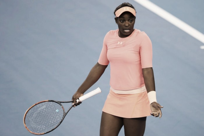 WTA Brisbane: Sloane Stephens withdraws due to knee injury
