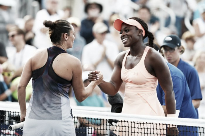 US Open: Sloane Stephens gets past 2015 finalist Roberta Vinci in straight sets