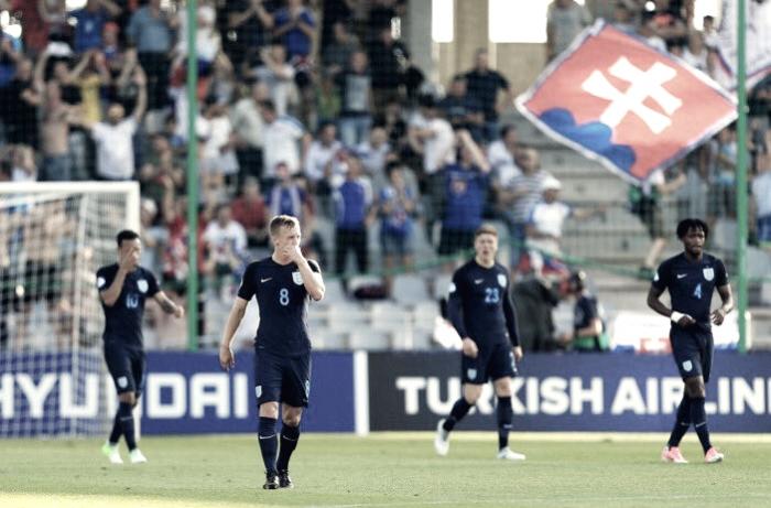 Europeo U21 - Un'ottima Slovacchia non basta: l'Inghilterra passa in rimonta (1-2)