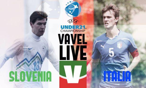 Risultato Slovenia U21 - Italia U21, Qualificazioni Euro 2017 Under 21  (0-3): doppio Monachello, Benassi