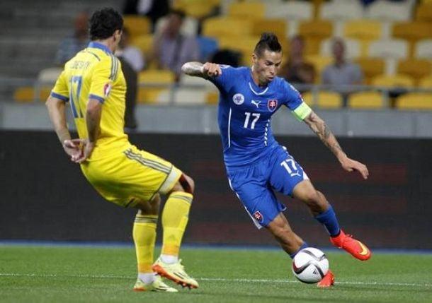 Girone C, la Slovacchia resiste all'Ucraina e salva il secondo posto