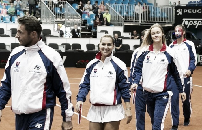 Fed Cup: Slovakia claim narrow victories for lead over Canada