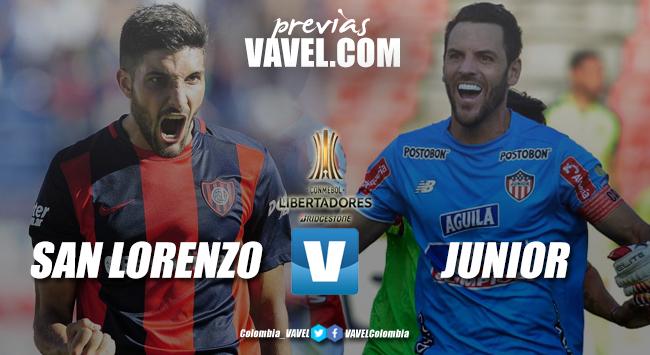 Previa Junior vs San Lorenzo: dos equipos que anhelan el primer triunfo en la Libertadores