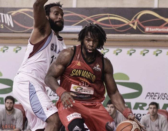 San Martín sobrepasó a Salta Basket y es semifinalista