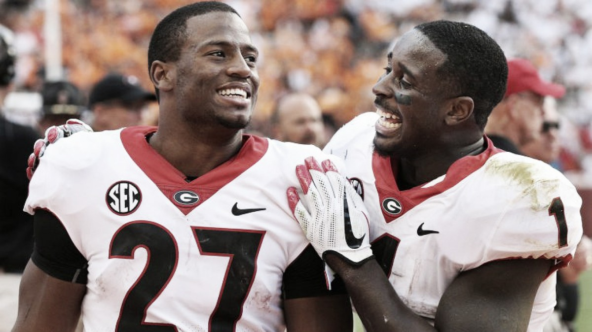 Los cinco mejores corredores universitarios candidatos a ser elegidos en el draft de la NFL